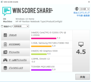 winscore
